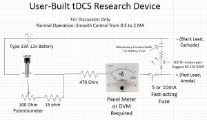User Built tDCS Research Device - Brent feb 2013